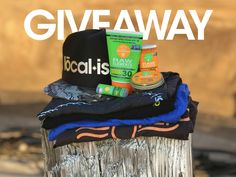 Win gear from Localish Apparel and Raw Elements Sunscreen!