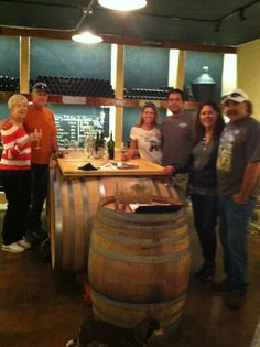 Espinosa tasting room with the winemakers!