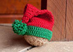 CROCHET PATTERN - Santa/Elf Hat. $3.50, www.etsy.com/shop/sweetdecemberhats