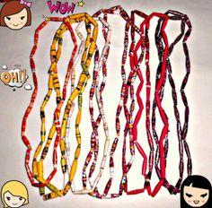 10 St. Halsketten für Mädchen von Nerikunst auf DaWanda.com