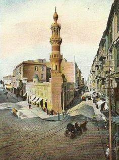 Al Atareen Mosque Alexandria #Egypt 1885