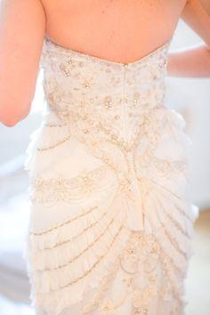 Head over heels for this dress: http://www.stylemepretty.com/little-black-book-blog/2015/03/11/elegant-winter-paris-elopement/   Photography: Le Secret D'Audrey - http://www.lesecretdaudrey.com/