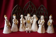 From original pinner -'Nativity (set #3) by Donna Barton'