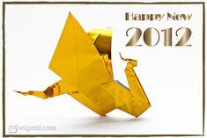Origami Dragon - Happy New Year | Go Origami!