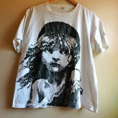 vintage 1986 les miserables t shirt