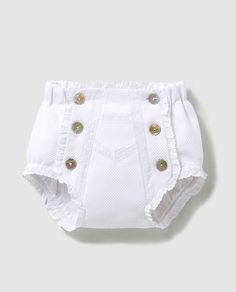 - Her Crochet Baby Bloomers, Baby Girl Romper, Little Girl Dresses, Toddler Dress Patterns, Baby Clothes Patterns, Baby Dress Design, Vintage Baby Clothes, Baby Outfits Newborn, Baby Newborn