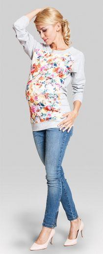 Crazy daisy трикотажная кофточка для беременных и кормящих Мода Для  Беременных, Одежда Для Беременных, 8ba9e3e6b6a