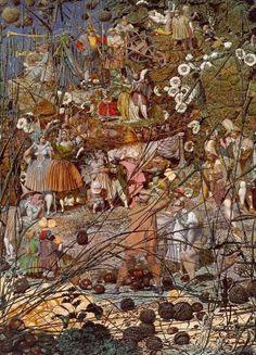 forma es vacío, vacío es forma: Richard Dadd - pintura
