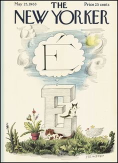 saul steinberg new yorker cover - Google Search
