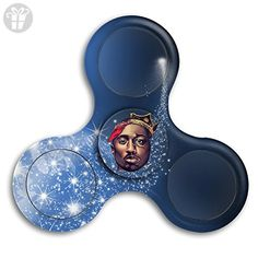 Notorious B.I.G 2PAC TUPAC Tri Fidget Spinner High Speed Spin Hand Toy Relieve Stress And Anxiety - Fidget spinner (*Amazon Partner-Link)
