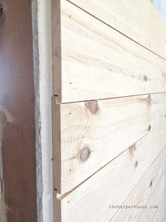Diy Shiplap Walls Sypsie Designs New Bass Lake Cottage