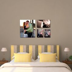 Canvas on Demand--make any photo into a single canvas or wall display etc