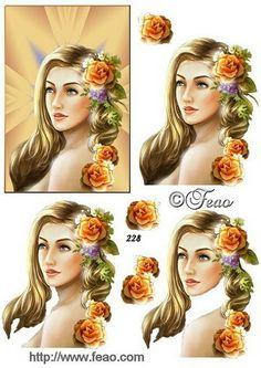 planche 3D femme