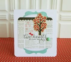 cut a journaling card in half and use as a decorative accent in back