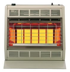 empire infrared ventfree gas heater with hydraulic thermostat controls natural gas - Natural Gas Garage Heater