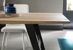 #arredo #giorno #tavolo #legno #legnomassiccio #rovere #massello #qualità #madeinitaly #innovazione #style #natural #table