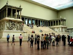 Pergamon Museum, Berlin    A fantastic monument to classical art and architecture. Time for another visit very soon.