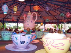 mad hatter's tea party disney world -