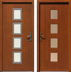 Drzwi wejściowe do domu z katalogu inox wzór 498,1-498,11