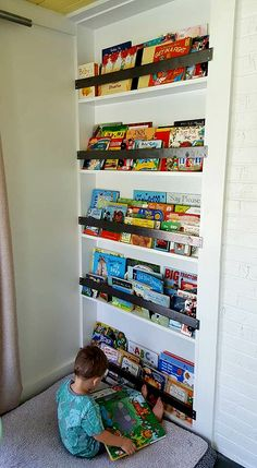 Little boy playroom - cute and CHEAP ideas! Sophisticated Rust