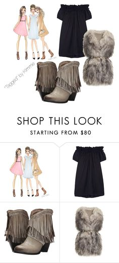 """""""Ride em cowgirl!!!!!"""" by taggedbykimmie15 on Polyvore featuring Clu, Freebird, PINGHE, women's clothing, women's fashion, women, female, woman, misses and juniors"""