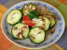 Pečená cuketa Zucchini, Vegetables, Food, Meal, Veggies, Essen, Vegetable Recipes, Cucumber