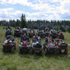 Planning Your ATV Group Adventure.would love to do this someday soon. Outdoor Fun, Outdoor Camping, Deer Farm, Atv Accessories, Need A Vacation, Atvs, Outdoor Adventures, Awesome Things, Offroad