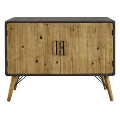 eb5a0b097e78da Buffet en bois L 100 cm Style Industriel, Maison Du Monde, Bureau, Objet
