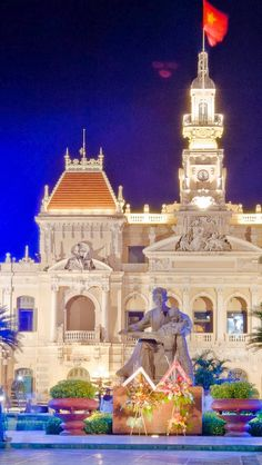 Ho Chi Minh City, Vietnam  Ho Chi Minh City formerly named Saigon, is the largest city in Vietnam. Under the name Saigon, it was the capital of the French colony of Cochinchina and later of the independent republic of South Vietnam from 1955–75.