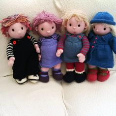 The Poppets by Gypsycream | Knitting Pattern - Looking for your next project? You're going to love The Poppets by designer Gypsycream. - via @Craftsy