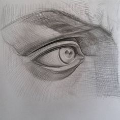 Pencil. 2016. #drawing #eye #david #study