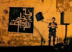Walls that Speak: Street Art in Lebanon Street Artists, Poster Wall, Urban Art, Symbols, Walls, Beirut Lebanon, Painting, Architecture, Music