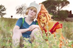 [Adventure Time] Finn&PrincessFlame Our first photo about our cosplays of Adventure Time *-* Look at my Princess Flame She's so cuuuuuute . [Adventure Time] Finn and Princess Flame Adventure Time Cosplay, Adventure Time Finn, Land Of Ooo, First Photo, Costumes, Costume Ideas, Deviantart, Princess, Couple Photos