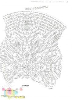 Pattern for a beautiful circular crochet vest.