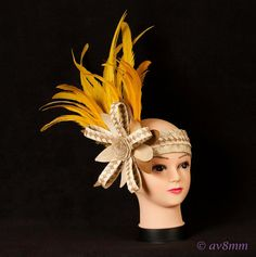 Weaved Palm leaves Tahitian Headpiece by TiareOPatitifa on Etsy, $48.00