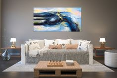 Large Abstract Painting on Canvas,Large Painting on Canvas,oil hand painting,painting canvas art,home decor wall Modern Oil Painting, Large Painting, Texture Painting, Painting Canvas, Texture Art, Office Wall Art, Office Walls, Abstract Wall Art, Canvas Wall Art