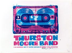GigPosters.com - Thurston Moore Band, The
