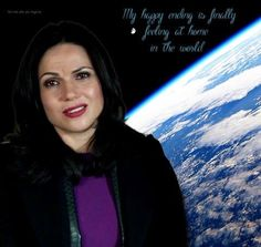 Awesome Regina (Lana) with one of Regina's awesome quotes #Once S3