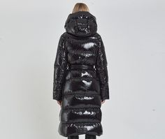 Puffer Jackets, Winter Jackets, Embossed Logo, Long A Line, Hooded Jacket, My Style, Parka, How To Wear, Women