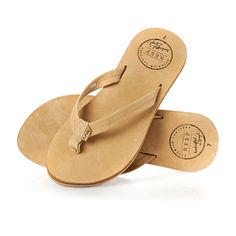 CHILL LEATHER FLIP FLOPS Tan | Reef