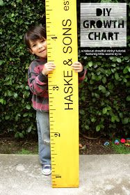 DIY giant yellow ruler is a perfect decoration for Workshop of Wonders VBS #firstpresorangeburgvbs