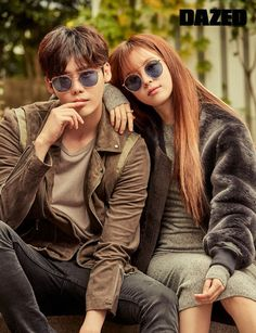 """Dazed has released a few more images of the pictorial for the much beloved couple from """"W – Two Worlds"""", original images HERE. Check it out! Source 