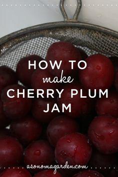 How to make cherry plum jam
