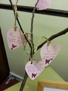 Wishing tree for baby girls christening but could do for a naming party or wedding
