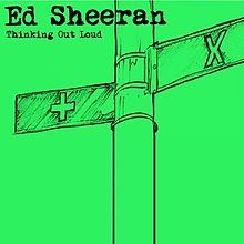 """Free PDF Piano Sheet Music for """"Thinking Out Loud - Ed Sheeran"""". Search our free piano sheet music database for more!"""