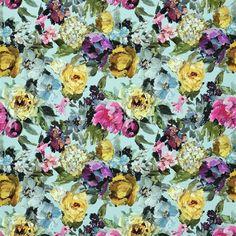 roseto - celadon fabric | Designers Guild