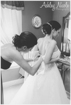 Traditional Wedding Details- Bride getting ready