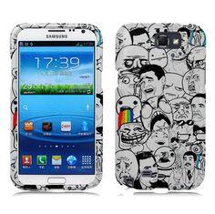 Samsung Galaxy Note 2 Case  Meme Hard Case by NuceNuce on Etsy