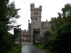 haunted castle in Scottland | Most haunted Scottish Scotland Carbisdale Castle