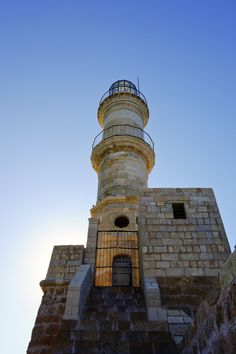 TRAVEL'IN GREECE | Chania old lighthouse, #Crete, #Greece, #travelingreece